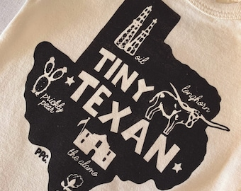 The Tiny Texan Baby Romper/Onesie