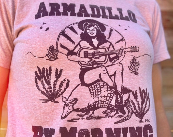 Armadillo by Morning Desert Pink Tee