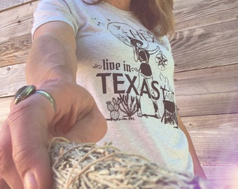 All My Hexes Live in Texas Short-Sleeve Tee