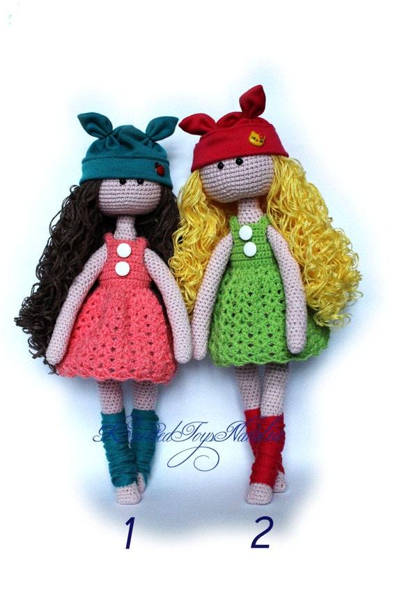 Puppe Häkeln Tilda Puppe Amigurumi Spielzeug Ooak Puppe Etsy
