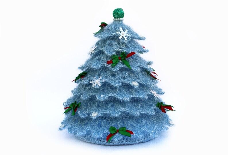 Albero Di Natale Uncinetto.Albero Di Natale All Uncinetto Decor Moderno Natale Uncinetto A Mano Di Giocattolo Regalo Natale Regali Natale Decorazione Presente Amigurumi