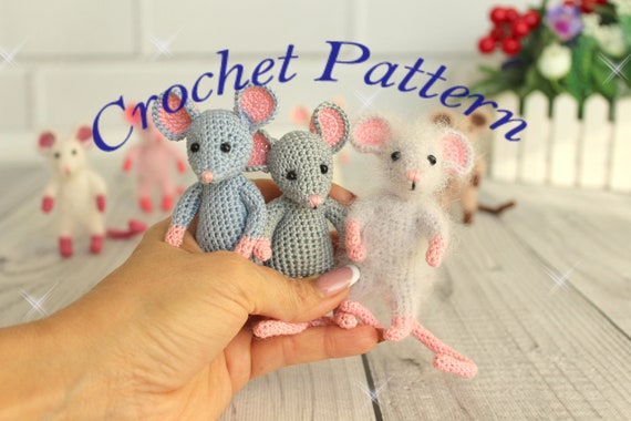 Little Muggles | Baby Mouse Pattern | 380x570