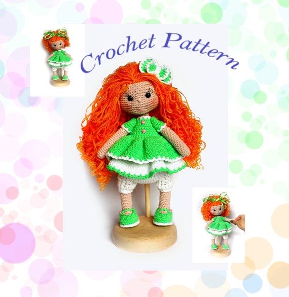 Amigurumi Popcorn Doll Free Crochet Patterns - Crochet.msa.plus | 586x570
