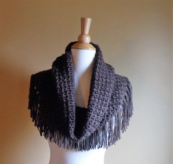 Sale! Fringed Mountain Cowl