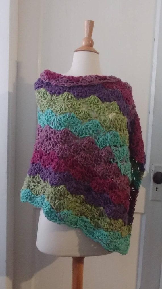 Crochet Womens Poncho
