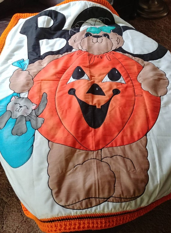 Kids Halloween Blanket