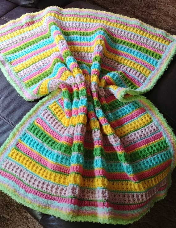 Pastel Baby Toddler Blanket