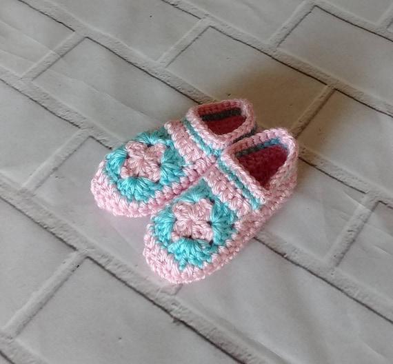Crochet Baby Slippers