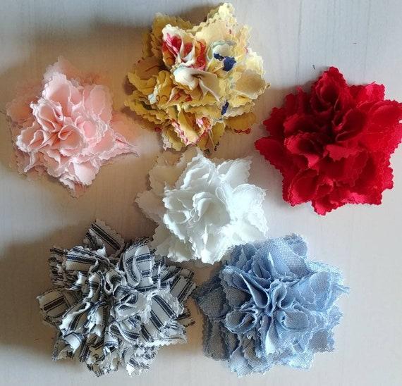 Shabby Fabric Flower