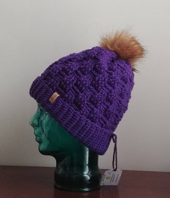 Chunky Basket Weave Hat