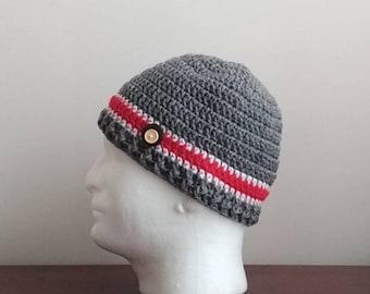 Buckeye Beanie, Buckeye Hat, Ohio State Hat, Adult Buckeye Hat, Kids Buckeye Hat, Baby Buckeye Hat, Ohio State Beanie, Free Shipping