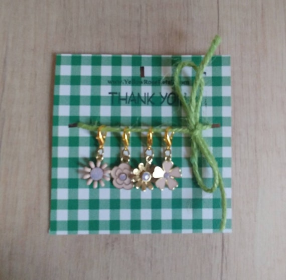 Set of 4 Stitch Markers