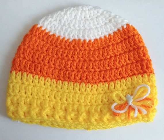 Toddler Candy Corn Hat