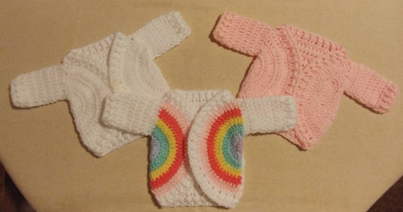 Newborn Baby Sweater, 3 to Choose From