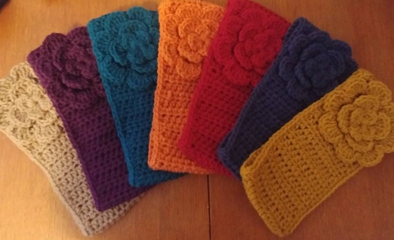 Sale! Flower Earwarmer