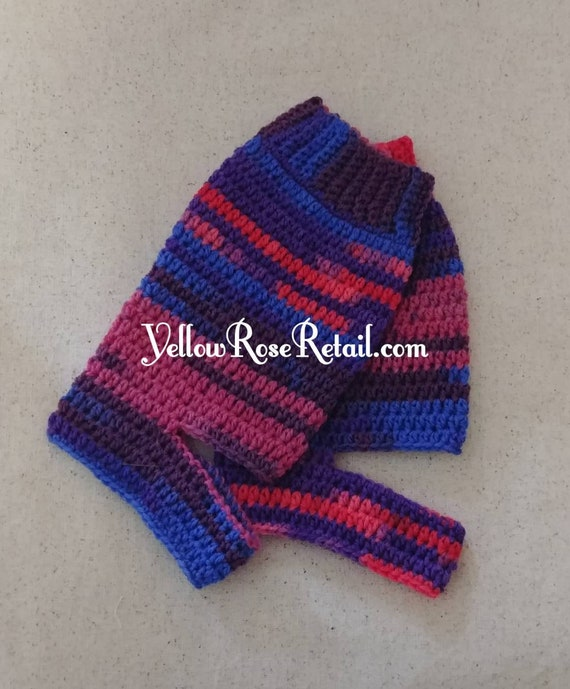 Berry Striped Yoga Socks