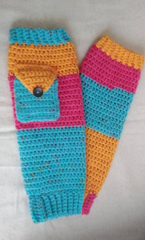 Rainbow Sherbert Leg Warmers