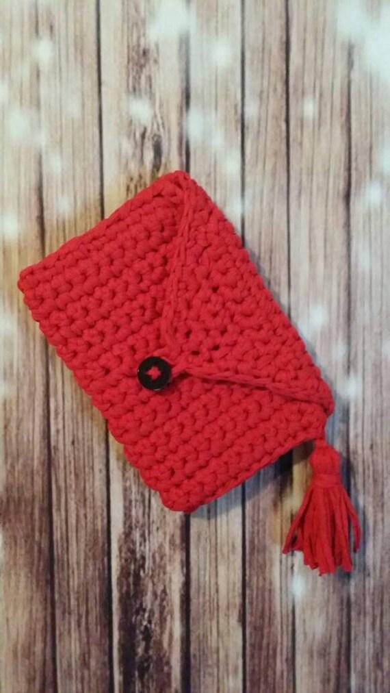 Red Hot Tassel Clutch