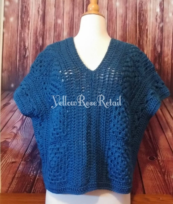 Spring Open Weave Sweater
