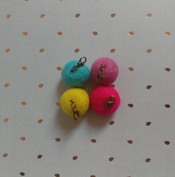Felt Ball Stitch Markers