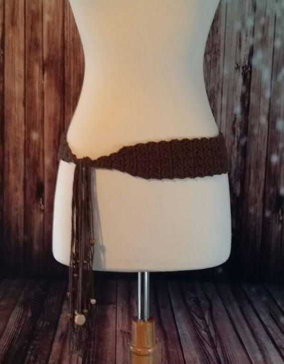 Cotton Crochet Belt