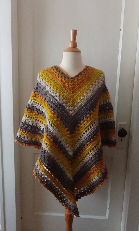 Warm Autumn Poncho