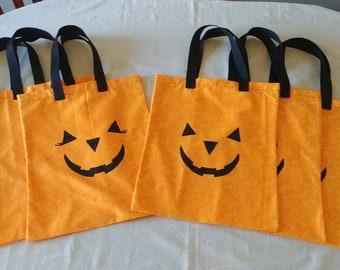 Jack-O-Lantern Halloween Bag