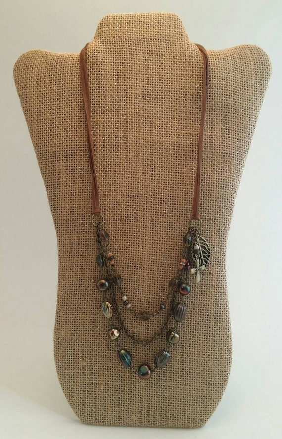Autumn Winds Beaded Necklace