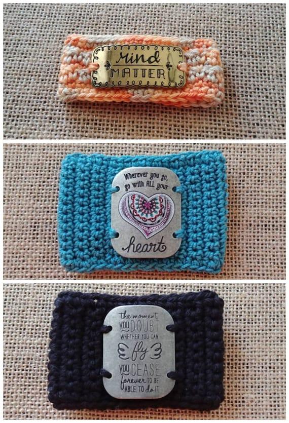 Crochet Cuff Bracelets, 3 styles