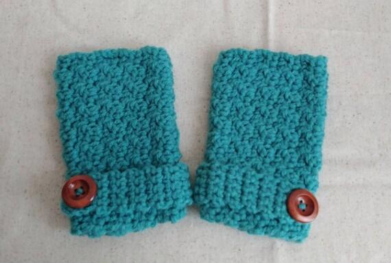 Jade Fingerless Gloves