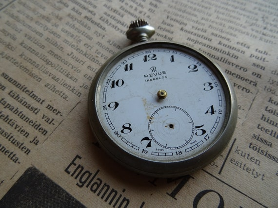 Working Revue pocket watch / rebuild or parts