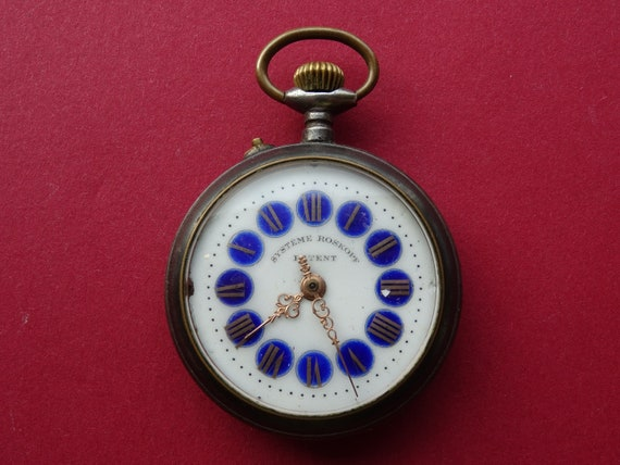 Old pocket watch / parts or rebuild, Roskopf germa