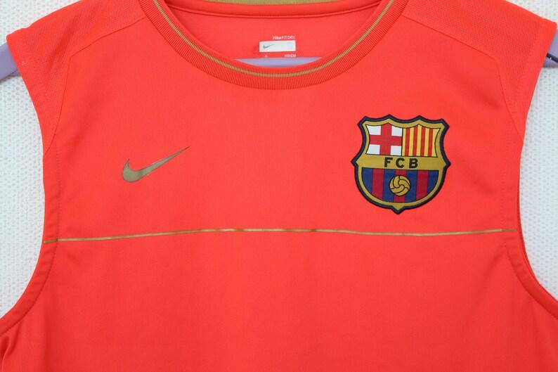 f24ff94902baf Nike FCB T shirt Red Sleeveless Shirt Men s FC Barcelona