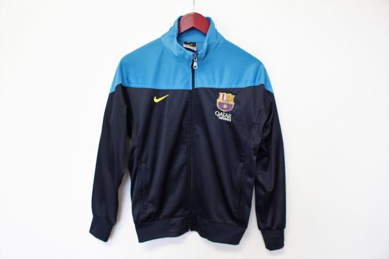 47201956ac0 Nike FC Barcelona Jacket Blue Full Zip Up Jacket Men's FC | Etsy