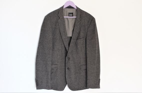 Mens Tweed Blazer STRELLSON Vintage Strellson Twee