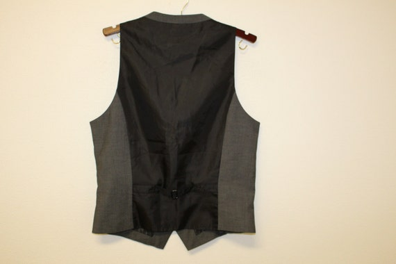 Mens Gray Waistcoat/ Mens  Wedding Vest/ Formal V… - image 5