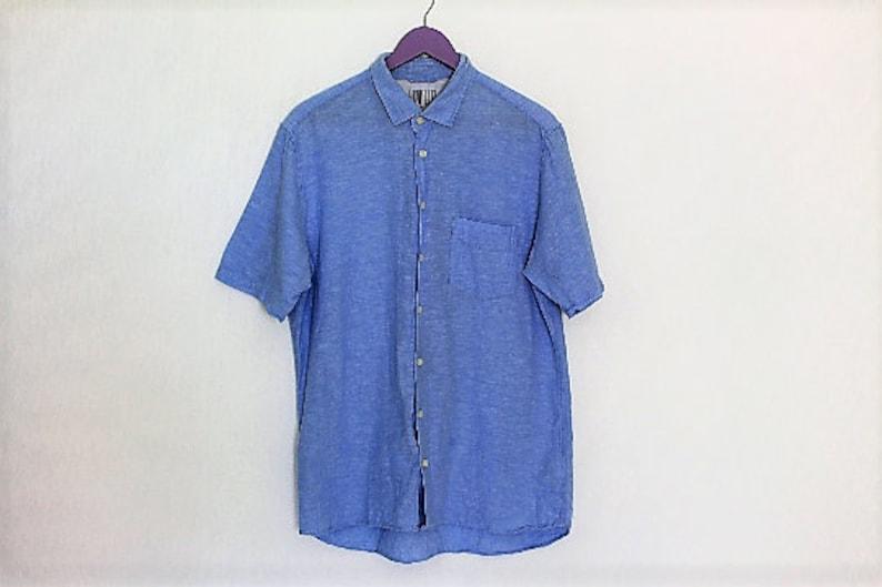77035063571 Light Blue Regular Fit Shirt GANT Short Sleeve Cotton Oxford   Etsy
