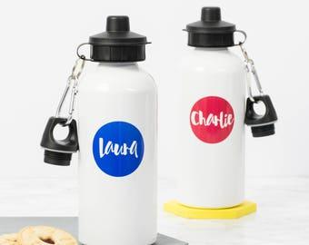 614c85e99e Name Water Bottle - Personalised Gift - Drinks Bottle - Friend Gift - Custom  Gift