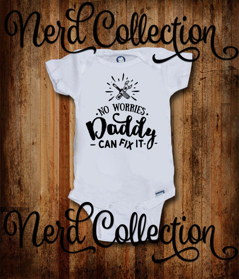 Daddy Workout All The Time Baby Onesie Shirt Dad Father Shower Gift Gerber