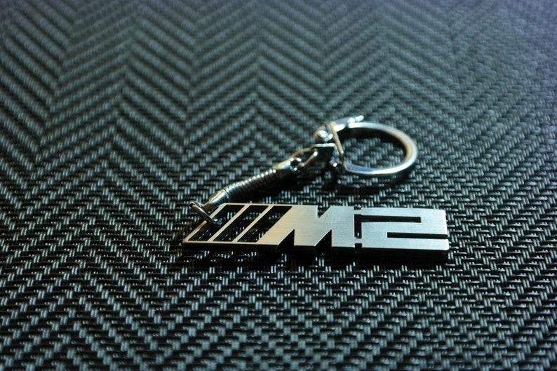Bmw M2 Keychain M2 Keyring Bmw Schlusselanhanger Etsy