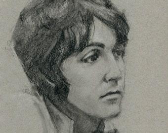 Original Drawing: Paul McCartney No. 2