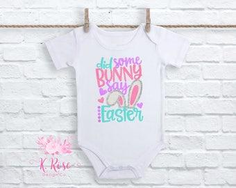 3d23968039fb Cotton Tail CutieBaby Girls Easter BodysuitGirls Easter