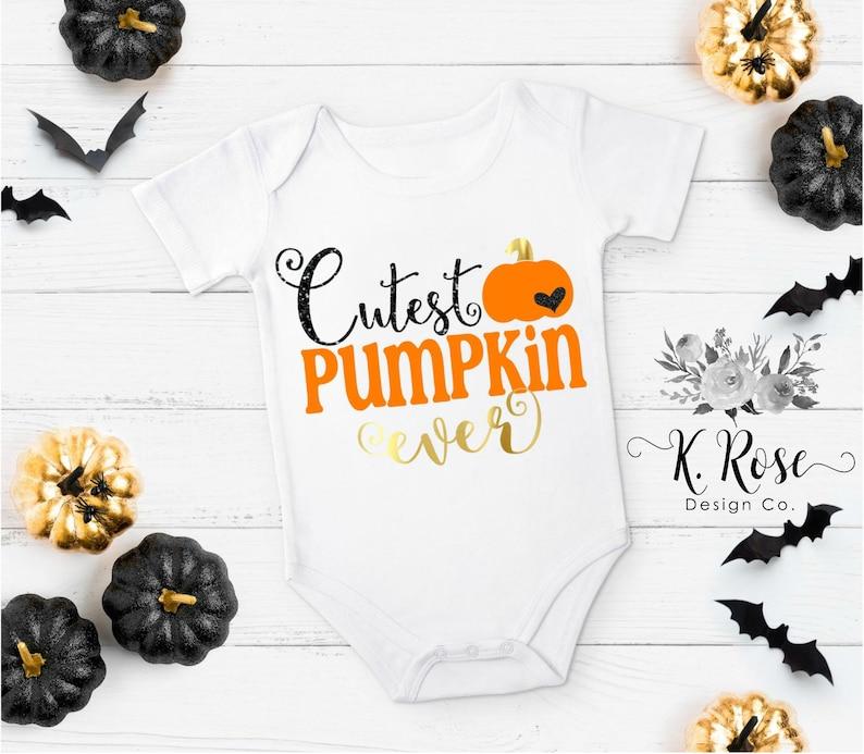 Cutest Pumpkin Ever Baby Girl Fall Baby Girl Halloween Pumpkin Patch Outfit Cutest Pumpkin In The Patch Halloween Outfit Fall Outfit