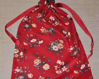 Reusable and Reversible Fabric Gift Bag