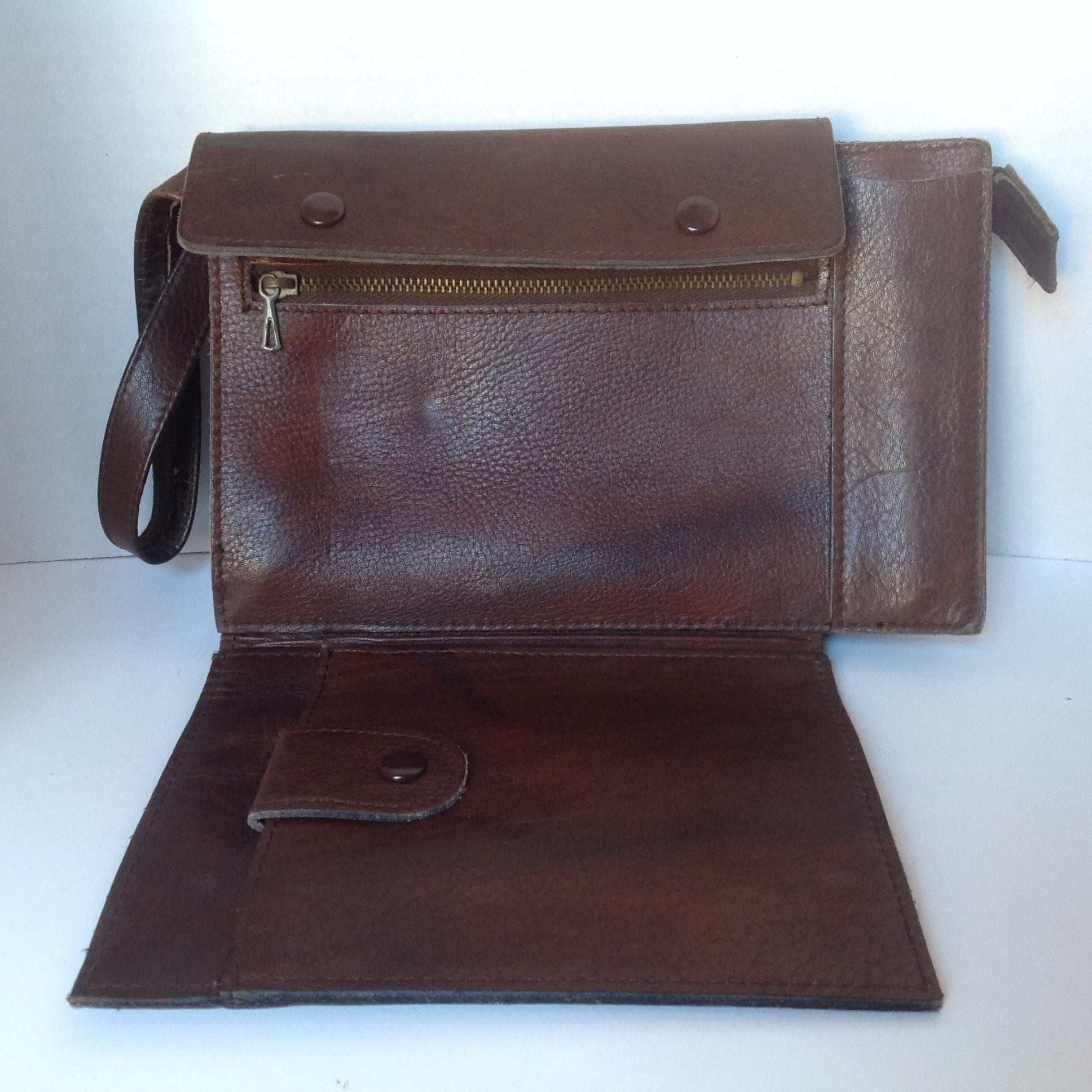 ed8d9e92a9 vintage leather wristlet leather organizer cell phone