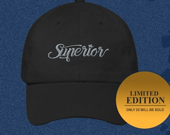 Superior Cotton Cap - Limited Edition - Only 25 will be sold