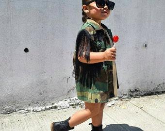 Mossy Oak Camo Boys Toddler Camouflage Tuxedo Vest Tie Coat  3-10 ring bearer
