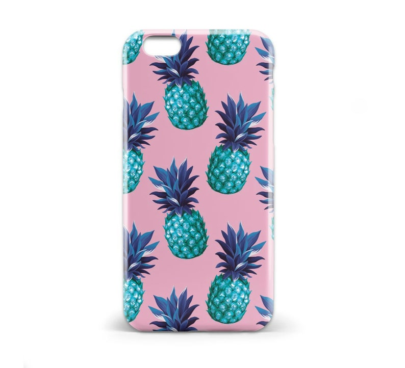 huge selection of 62112 1d598 1423 // Blue and Pink Retro Pineapple Phone Case iPhone 5 5S, iPhone 6 6S,  Samsung Galaxy S5, Samsung Galaxy S6, Samsung Galaxy S7 Edge Plus