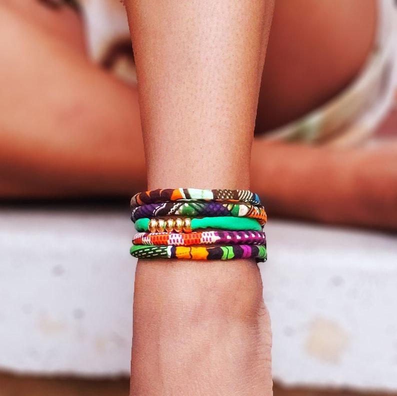 Green Envy Ankle Bracelet image 0