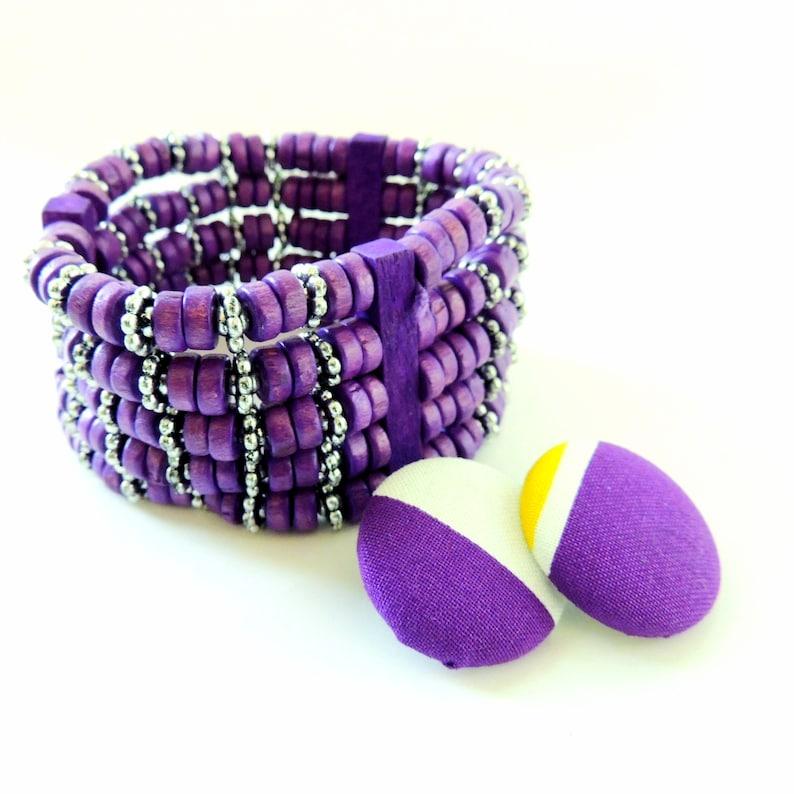Eze Earring and Bracelet Set image 0